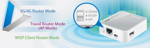 TP-Link TL-MR3020 Travel Router dengan Fungsi 3G 4G