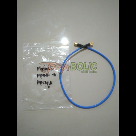 Pigtail RPSMA to RPSMA Blue OEM 01