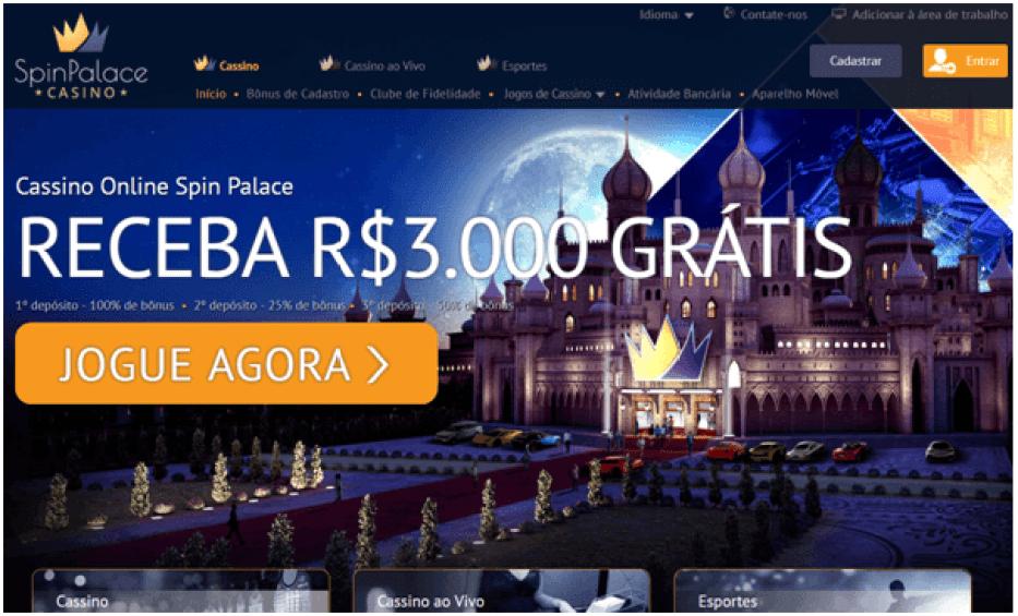 Spin palace Brazil