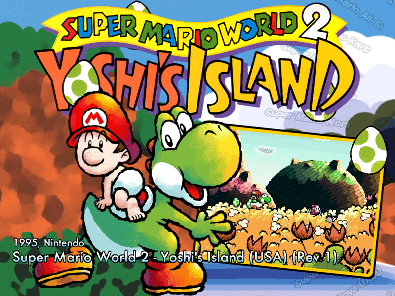 Super Mario World 2 – Yoshis Island