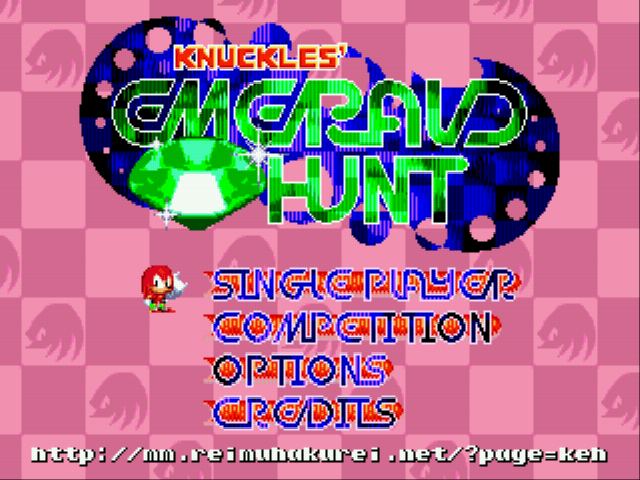 Knuckles' Emerald Hunt