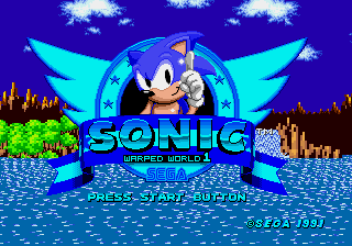 Sonic 1 – Warped World (2015 version)