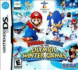 Jogar Mario & Sonic: At the Olympic Winter Games – NDS Gratis Online