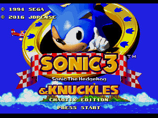 Sonic 3 and Knuckles – Chaotix Edition