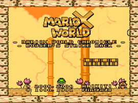 MarioX World – Bowser's Strike Back