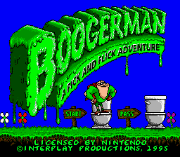 Boogerman – A Pick and Flick Adventure