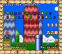 Super Mario Endless World Demo