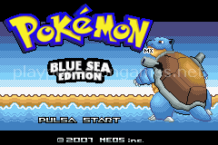 Pokemon Blue Sea Edition (GBA)