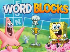 Spongebob Word Blocks