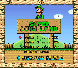 Super Luigi Land by Gamma V