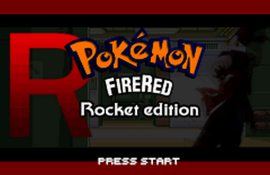 Pokemon Fire Red Rocket Edition (GBA)