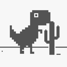 Google Chrome Dinosaur