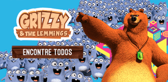 Grizzy and the Lemmings: Encontre todos