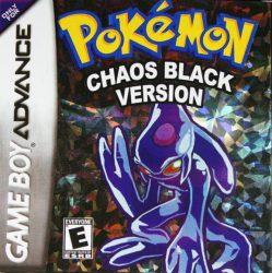 Pokemon Chaos Black Hacked
