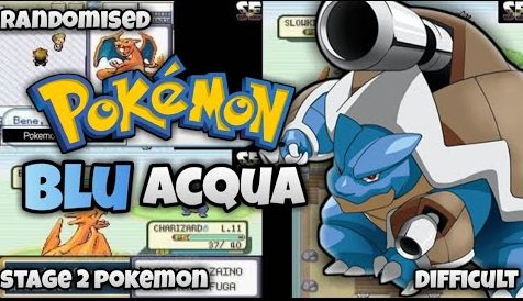 Pokemon Blu Acqua (GBA)