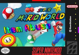 Super Mario World: ITEM ABUSE