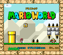 Friday Mario World