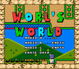 Super Mario World Hacks – Worl's World