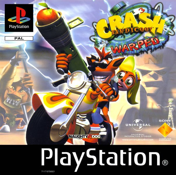Crash Bandicoot 3: Warped – PS1