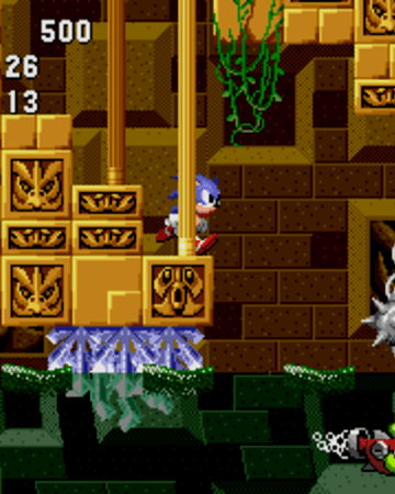 Sonic Underwater Labyrinth Zone