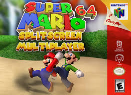 Super Mario 64 Split-Screen Multiplayer