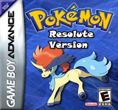 Pokemon Resolute Version – GBA