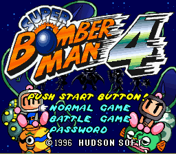 Super Bomberman 4 (English Translation) – SNES