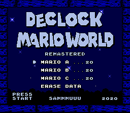 Super Mario World – DeClock Mario World Remasterizado