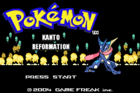 Pokemon Kanto Reformation (GBA)