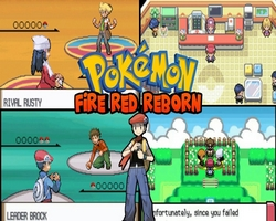 Pokemon Fire Red Reborn (GBA)