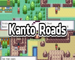 Pokemon Kanto Roads (GBA)