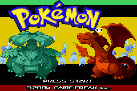 Pokemon Throwback: Kanto, Your Way (GBA)