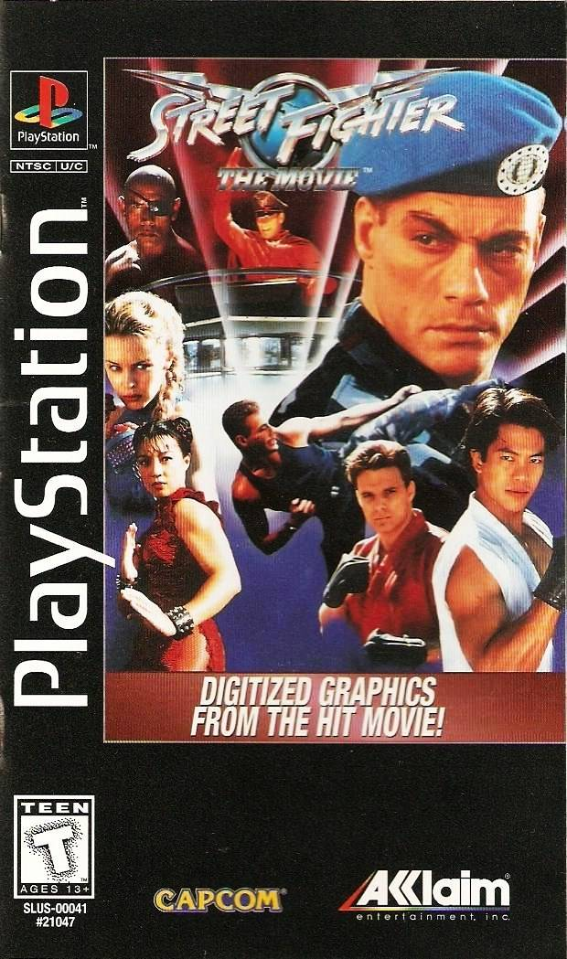 Street Fighter – The Movie (USA) – PS1