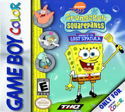 SpongeBob: Legend of the Lost Spatula (Gameboy Color)