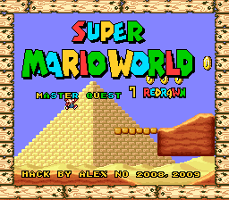 Super Mario World – Master Quest 7 Redrawn