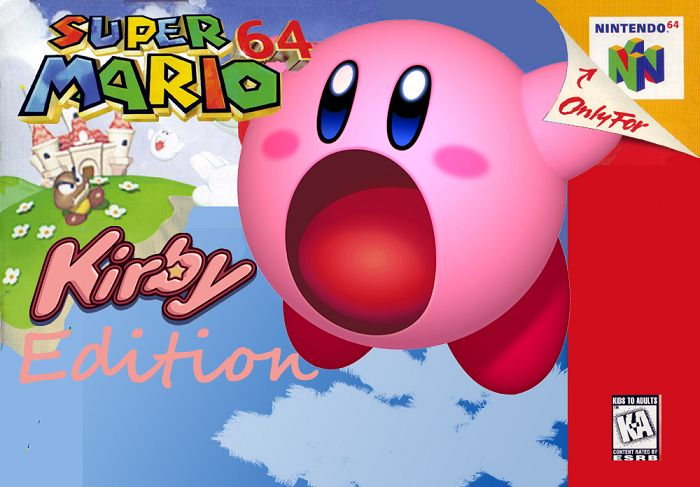 Super Mario 64: Kirby Edition