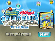SpongeBob SquarePants Bubble Trouble Cereal