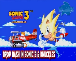 Drop Dash in Sonic 3 & Knuckles