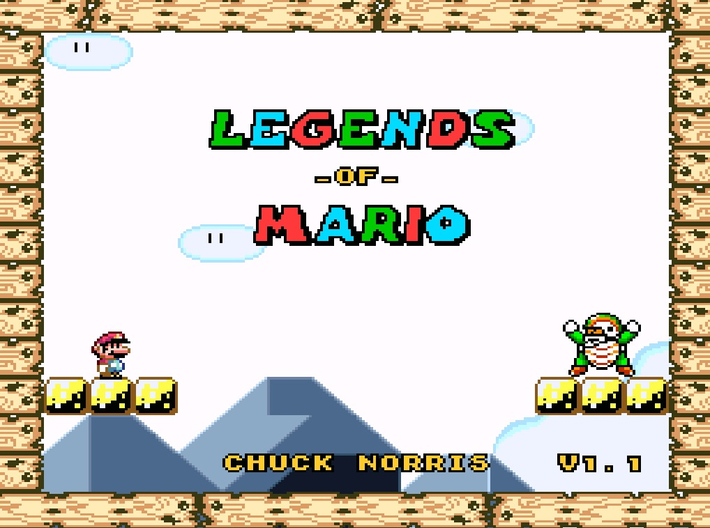 Legends of Mario / Lendas do Mario [SNES]