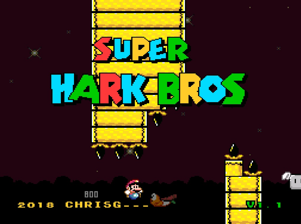 Super Hark Bros [SNES]