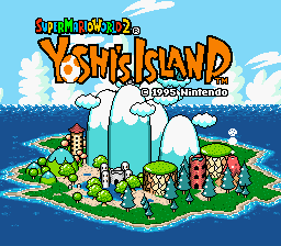 Super Mario World 2 – Yoshi's Island Prototypes