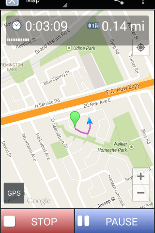 JogTracker Screenshot