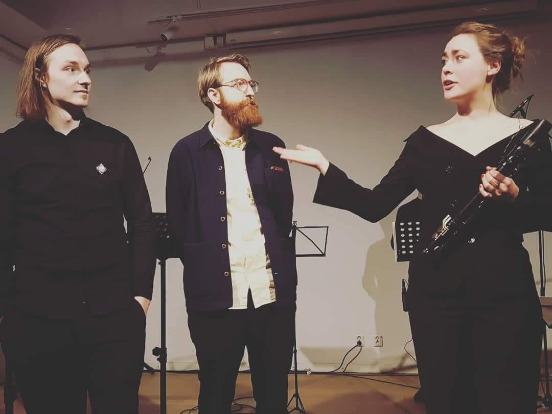 Gustav, Johan and Clara