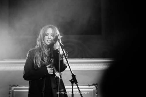 Lisa Lambe's concert at the Dublin Trad Fest
