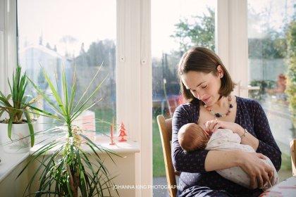 Newborn documentary session Dublin