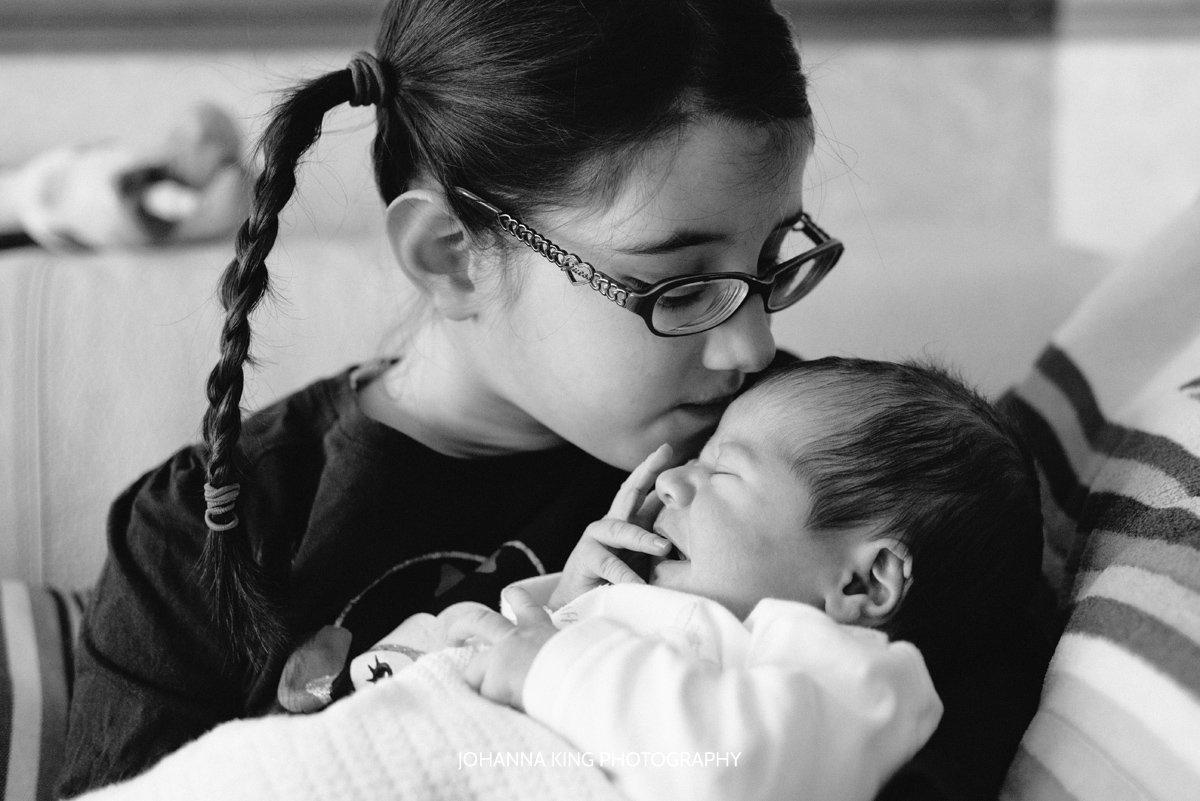 Dublin in-home newborn photography