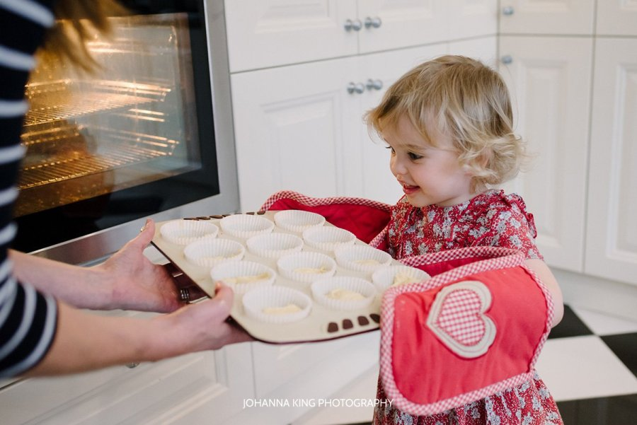 Family Christmas Traditions Photography Baking