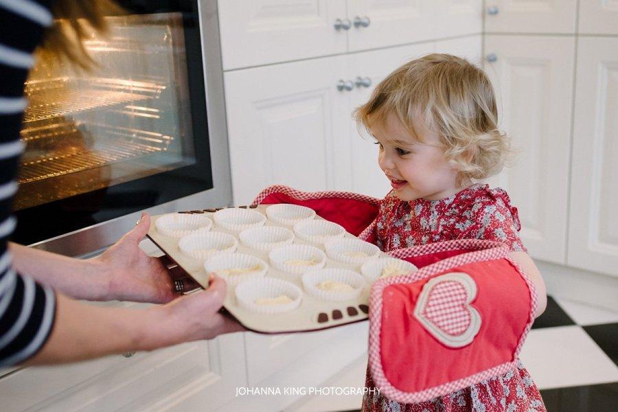 Dancing on Christmas Music and Baking buns