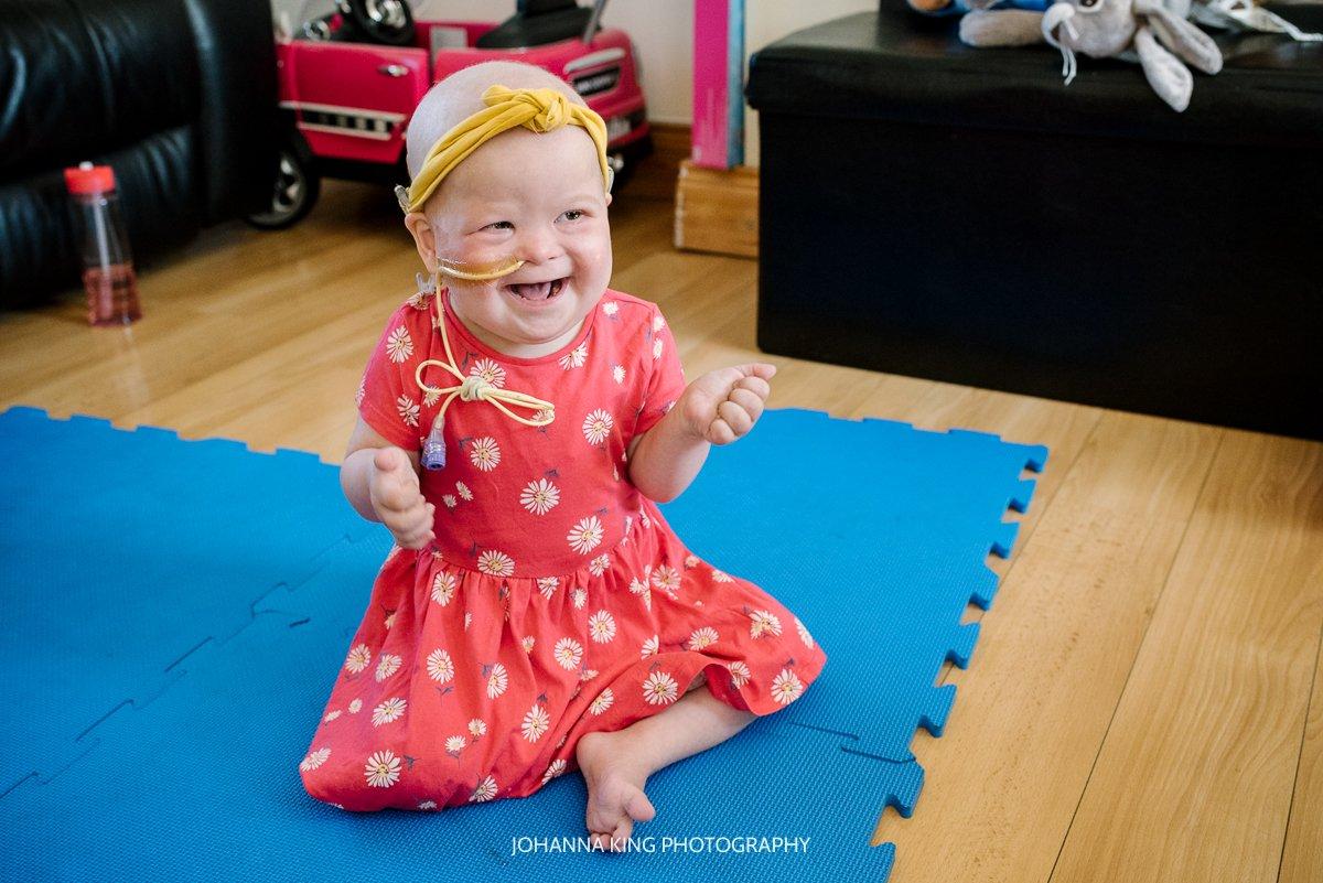 Réiltín's big smile