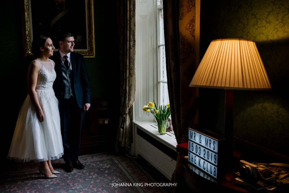 Intimate Irish Family Elopement Wedding - K Club